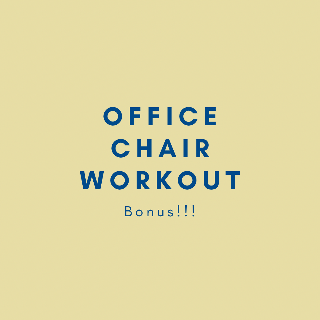 Office Chair Workout! Bonus